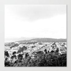 San Francisco Cityscape No. 1 Canvas Print