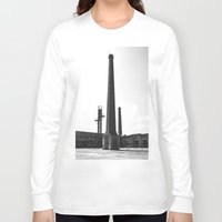 industrial Long Sleeve T-shirts featuring Industrial by Renata's Photobox