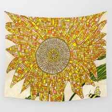 Georgia Sunflower Wall Tapestry