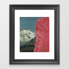 let it melt Framed Art Print