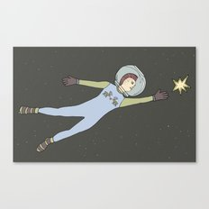 Star from the sky Canvas Print