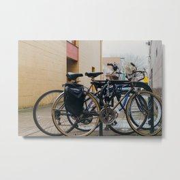 Bicycle Rack - Eugene, OR Metal Print
