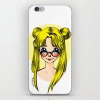 sailormoon iPhone & iPod Skins featuring Usagi Sukino by Sailisally