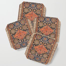 Hamadan  Antique West Persian Rug Print Coaster