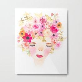 Dreaming of Flowers Metal Print