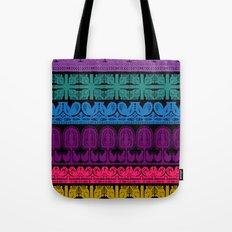 folk cutouts pattern Tote Bag