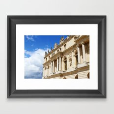 Blue Sky Versailles Framed Art Print