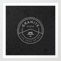 Granite State Art Print