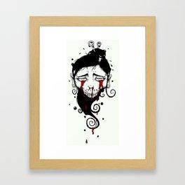 Tears Of Blood Framed Art Print