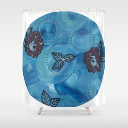 Triptych-3 Shower Curtain