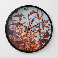 serenity Wall Clocks featuring serenity by Françoise Reina