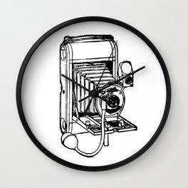 Camera. Wall Clock