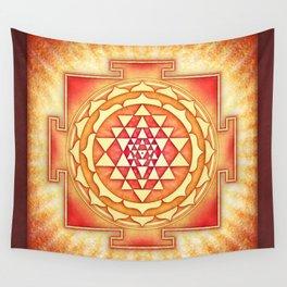 Sri Yantra XVI.I Wall Tapestry