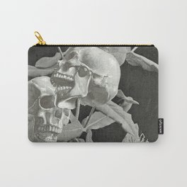Skullflower Two Carry-All Pouch