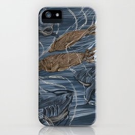 Sharks and Seales iPhone Case