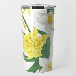 daffodil flowers Travel Mug