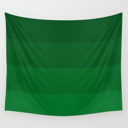 Rich Forest Evergreen Stripes Ombre Wall Tapestry