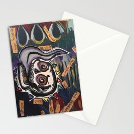 itfellapartintosmoke Stationery Cards