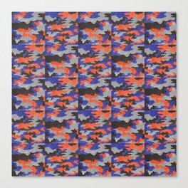 Camo pattern Canvas Print