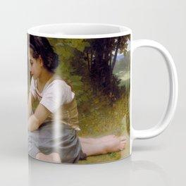 """William-Adolphe Bouguereau """"The Nut Gatherers"""" Coffee Mug"""
