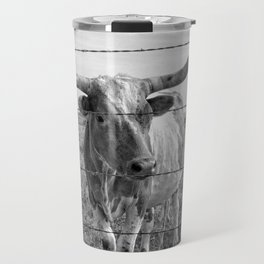 Longhorn Cows Travel Mug
