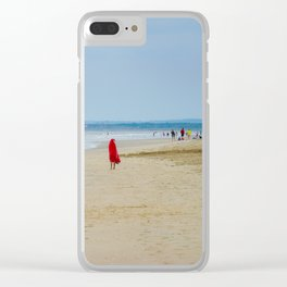 En rouge Clear iPhone Case