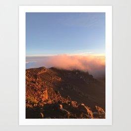 Maui Canyon Sunrise Art Print