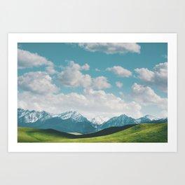 Great Heights Art Print