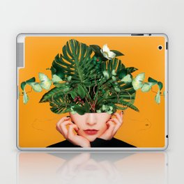 Lady Flowers || Laptop & iPad Skin