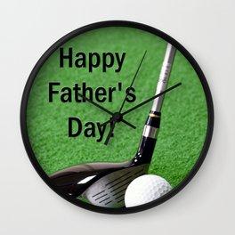 Fathers Day - Enjoy! Wall Clock