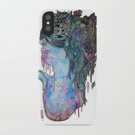 moth effect iPhone Case