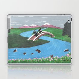 Looking for Nessie - Scotties - Scottish Terriers Laptop & iPad Skin