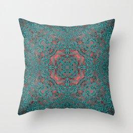 magic mandala 34 #mandala #magic #decor Throw Pillow