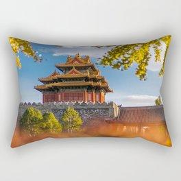 Awe Inspiring Forbidden City Beijing China Asia Ultra HD Rectangular Pillow