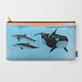 Orca and Dolphin Carry-All Pouch