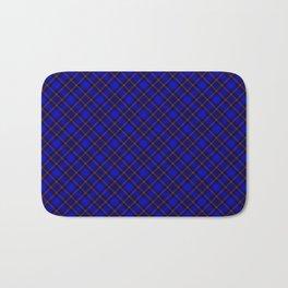 Scottish Fabric Blue High Resolution Bath Mat