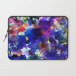 Royal Blue Garden Laptop Sleeve