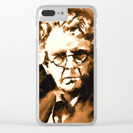 William Butler Yeats Clear iPhone Case