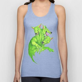 Cerberus-Bright Unisex Tank Top