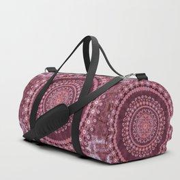 Boho Rosewood Mandala Duffle Bag