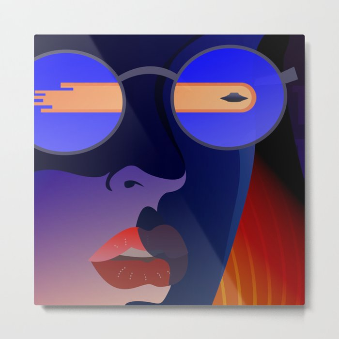 Dana Scully - The Truth is Out There Metal Print