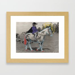 Wizard and I Framed Art Print