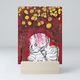Skeletal Calm Mini Art Print
