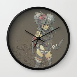 The Pirate Queen Wall Clock