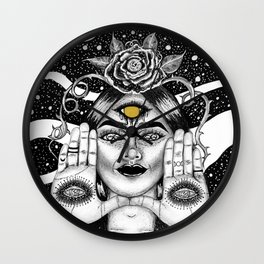 The Clairvoyant Wall Clock