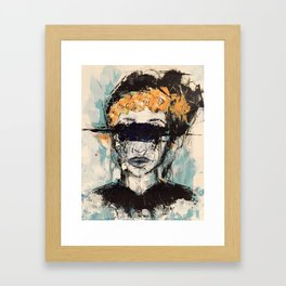 In My Head Framed Art Print