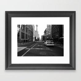 Off Queen - John Street - South Framed Art Print