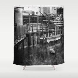Leeland Michigan Deck Shower Curtain