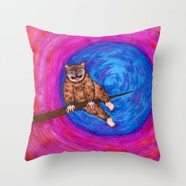 Tree Monster Throw Pillow