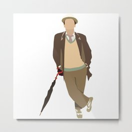 Seventh Doctor: Sylvester McCoy Metal Print